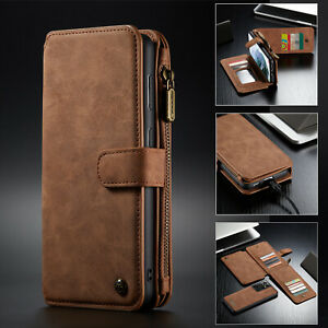 For Samsung S21 Ultra S20 Plus Note 20 S10 S9 Plus S8 Leather Wallet  Case Cover