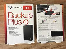 Seagate Backup Plus 4TB Portable Ext. Hard Drive USB 3.0, Black (STDR4000100)