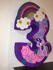 My little pony Pinata, inspired. my little pony birthday Party. My little pony