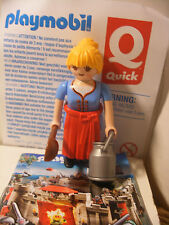 playmobil FERME Fermiere Cremiere inedit edition speciale QUICK FRANCE Neuf