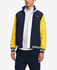 Tommy Hilfiger Mens Blue/Lemon Coastal Yacht Full Zip...