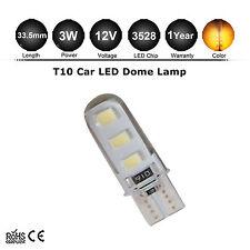 1x W5W SMD 6 LED indicador de señal de giro Lateral Naranja ámbar Bombilla T10 501
