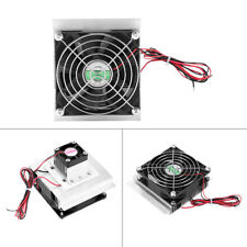 DC12V 6A Thermoelectric Peltier Refrigeration Cooling System Kit Cooler Fan