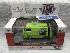 2019 M2 Machines 1964 Dodge A100 Panel Van WMTS14 19-16 Dodge Fever NIB New