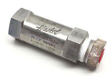 Haskel Filter 28728-1 Element 15705, Max Pressure Gas 6000PSI