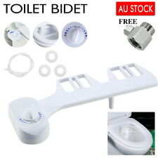 Toilet Bidet Seat Spray Water Wash Attachment Bathroom Home Sanitation 1 Nozzle