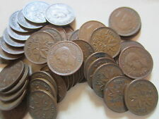 Roll of 1947 ML Canada Small Cents (50 Coins)