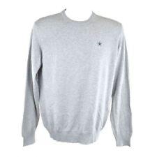 Hackett Light Grey Long Sleeve Sweater Size S RRP115 P75