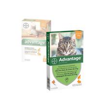 ADVANTAGE 0,4 x 4 pipettes  Ticks and flea treatment Cat - 4 kg antiparasitaire