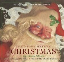 The Night Before Christmas by Clement C Moore (Board book, 2013)
