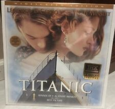 TITANIC WIDESCREEN EDITION LASER DISC UNOPENED BRAND NEW from 1997 2 SET THX