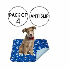Yangbaga Washable Pee Pads for Dogs, 4 PCS Non Slip Puppy Pads, 16x23.6in Whe...