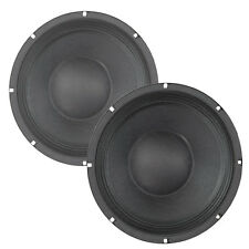 Pair Eminence Beta-10A 10 inch Midbass Guitar PA Woofer 8 ohm 250 W RMS Speaker