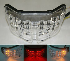 Clear LED Tail Light Turn Signal For Yamaha 2006-15 2010 FZ1 Fazer 2010-2015 FZ8