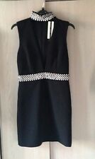 Topshop Navy Embellished Shift Dress, Size 8, RRP £95, Perfect Party Dress!