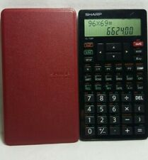 Sharp El-738F Business & Financial Calculator | Used + Free Shipping