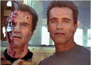 Terminator 2 1:1 Stage 5 Resin Bust Prop T800 Arnold Schwarzenegger Endoskeleton