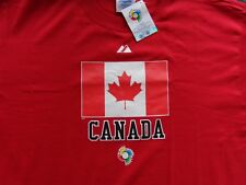 WBC / World Baseball Classic CANADA T-SHIRT 1st Year  Free Shipping ( XL )  Red