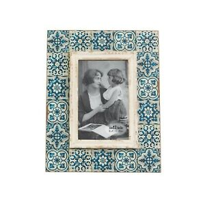 Sass and Belle Mediterranean Mosaic Photo Frame 6x4