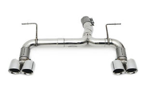 Fabspeed BMW M2 (F87) Muffler Bypass Exhaust System Polished Chrome