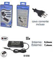 Alimentatore HP NX6300 NX7300 NX7400 19V 4,74A 5*7,4mm PC COMPATIBILE LAPTOP