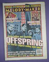 Melody Maker Music Paper 15th April 1995 - Offspring, Janet Jackson, Drugstore