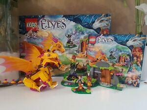 Lego elve 41175 la grotte de Zonya complet