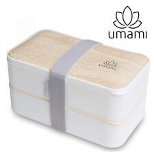 Umami Bento Original Blanc - Lunch Box À 2 Compartiments Hermétiques Et 3...