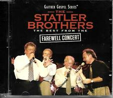 "THE STATLER BROTHERS.....""THE BEST FROM THE FAREWELL CONCERT""......OOP GOSPEL CD"
