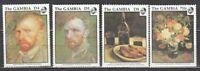 Gambia - Mail 1991 Yvert 1097/100 MNH Paintings Van Gogh