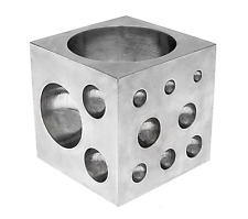 Dapping Coin Dome Ring Jewelry Tools Making Block Doming Stainless Steel Cavity