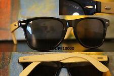 lunettes de soleil polarisé sur branches bambou véritable