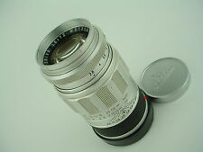 LEICA 90mm f/2.8 ELMARIT M-mount Leitz Wetzlar Chrome Lens