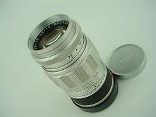 LEICA 90mm f/2.8 ELMARIT M-mount Leitz Wetzlar Chrome Lens