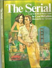 1977 THE SERIAL MARIN COUNTY CALIFORNIA GRAPHIC NOVEL ILLUSTRATED CYRA MCFADDEN
