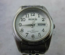 WOMAN BENRUS CLASSIC DAY DATE WATCH GREAT CONDITION WORKING