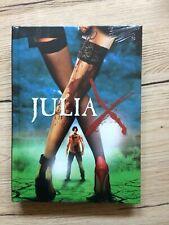 Julia X - 3D Blu ray 2 disc LTD. mediabook  SEALED  277 copies 100% uncut Mayhem