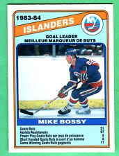 PERFECT CENTERING! 1984/85 OPC ISLANDERS MIKE BOSSY #362 NRMT/MT