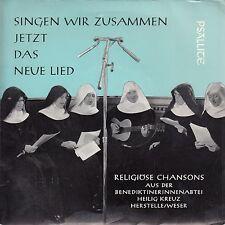 """RELIGIOSE CHANSONS AUS DER BENEDIKTINERINNENABTEI-ORIGINAL GERMAN 7"""" 45 EP 1967"""