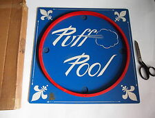 Vintage FAO SCHWARZ PUFF POOL GAME BOARD only IN BOX US Zone Germany