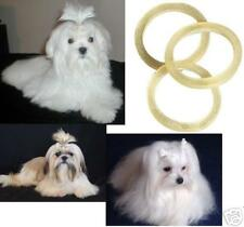 """1000 pc 5/16"""" Latex Rubber&Rosin DOG Grooming HAIR BAND for Ribbon Bow Top Knot"""