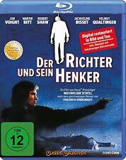 DER RICHTER UND SEIN HENKER (Jon Voight, Jacqueline Bisset) Blu-ray Disc NEU+OVP