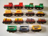 FREIGHT MODEL TRAIN VARIATIONS SET 1998 1:160 N - KINDER SURPRISE MINIATURES