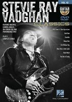 Stevie Ray Vaughan Classics Guitar Play-Along DVD NEW 000122156