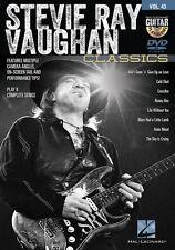 Stevie Ray Vaughan Classics Guitar Play-Along DVD NEW 000122156