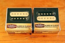 Tonerider handwound Alnico IV Classic set vintage & blues PAF ac4 Open cebra!!!