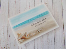 "SAMPLE ""Beach Theme"" Wedding Invitation / RSVP / Wishing Well - All in One!"