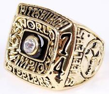 PITTSBURGH STEELERS REPLICA FIRST SUPERBOWL RING SIZE 11
