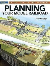 PLANNING YOUR MODEL RAILROAD - NEW PAPERBACK BOOK