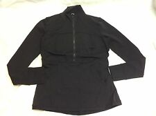 New With Tag Lululemon Define Pullover Black Size 10